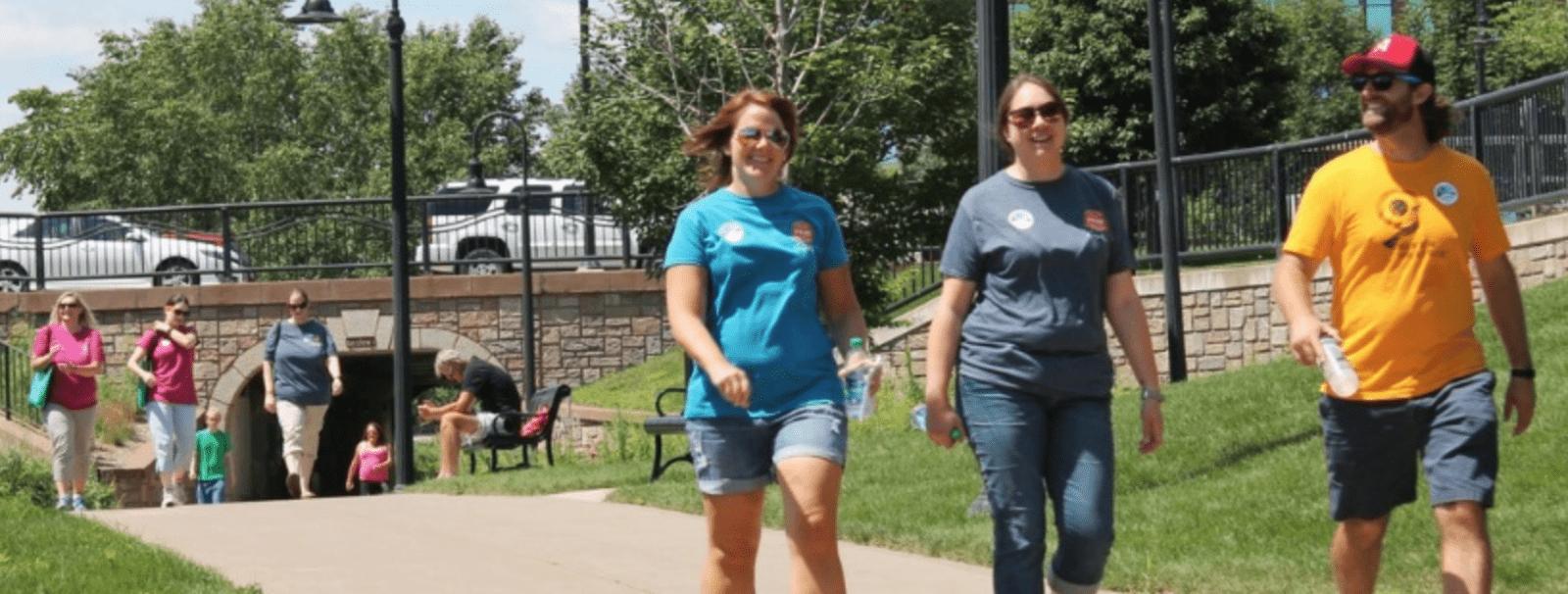 downtown eau claire wellness walk