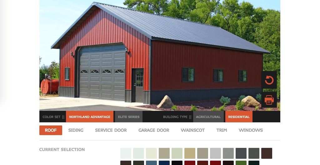 metal building color visualizer